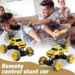 Gesture Sensing RC Stunt Car for Kids, Yellow TH17P0833 zt2