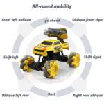 Gesture Sensing RC Stunt Car for Kids, Yellow TH17P0833 zt3