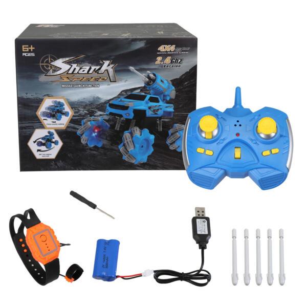 Gesture Sensing RC Stunt Car for Kids, Blue TH17R0834 8