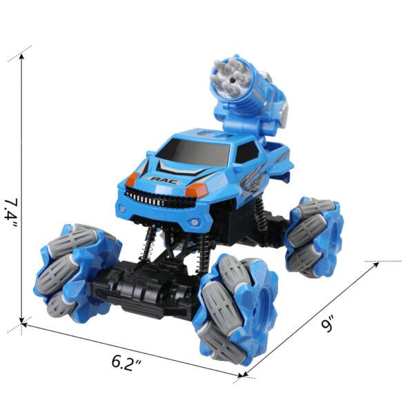 Gesture Sensing RC Stunt Car for Kids, Blue TH17R0834 cct