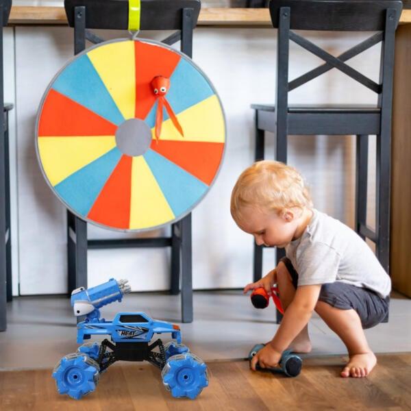 Gesture Sensing RC Stunt Car for Kids, Blue TH17R0834 cj3