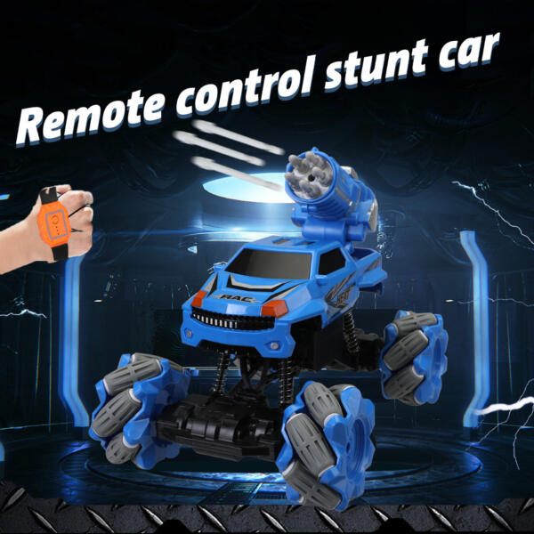 Gesture Sensing RC Stunt Car for Kids, Blue TH17R0834 zt1