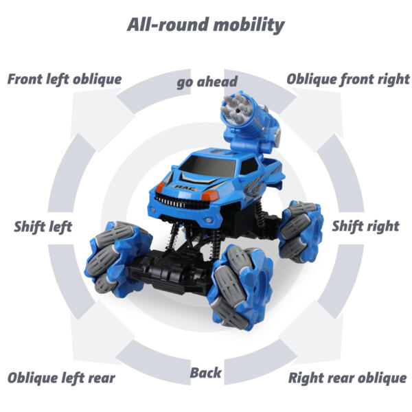Gesture Sensing RC Stunt Car for Kids, Blue TH17R0834 zt3