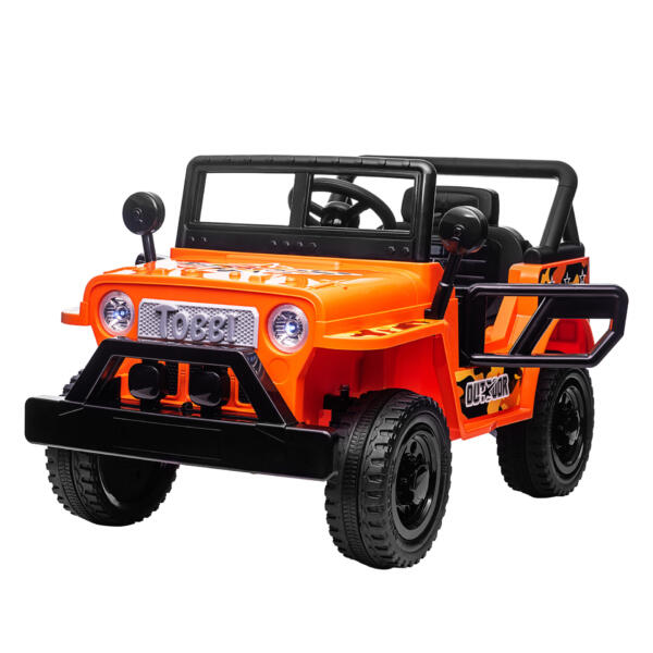 Battery Powered Kid's Car Truck with Double Doors, 12V TH17R0870 23