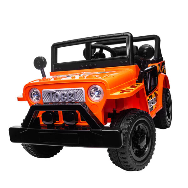 Battery Powered Kid's Car Truck with Double Doors, 12V TH17R0870 34