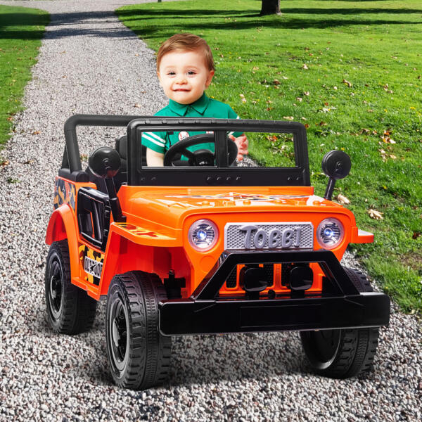 Battery Powered Kid's Car Truck with Double Doors, 12V TH17R0870 cj3