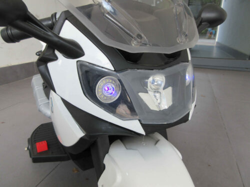 Electric Ride On Motorcycle Toy for Kids, White photo review
