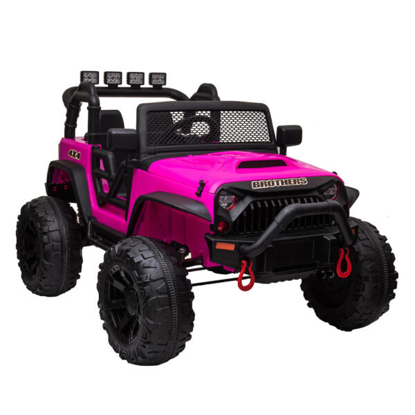 12V Powerful Ride On Truck Jeep Wrangler for Kids TH17T0494 1