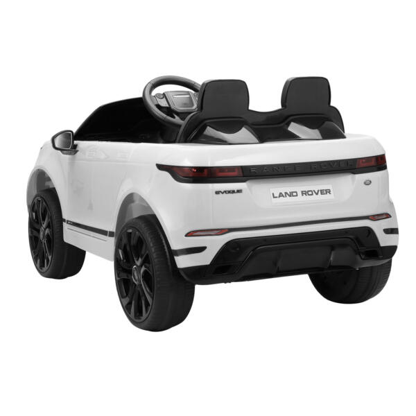 12V Land Rover Kids Power Wheels Ride On Toys With Remote, White TH17T0620 4