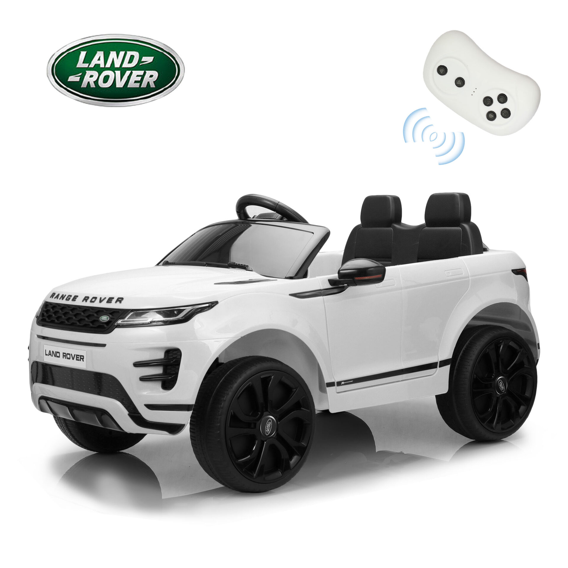 12V Land Rover Kids Power Wheels Ride On Toys With Remote, White TH17T0620 zt60