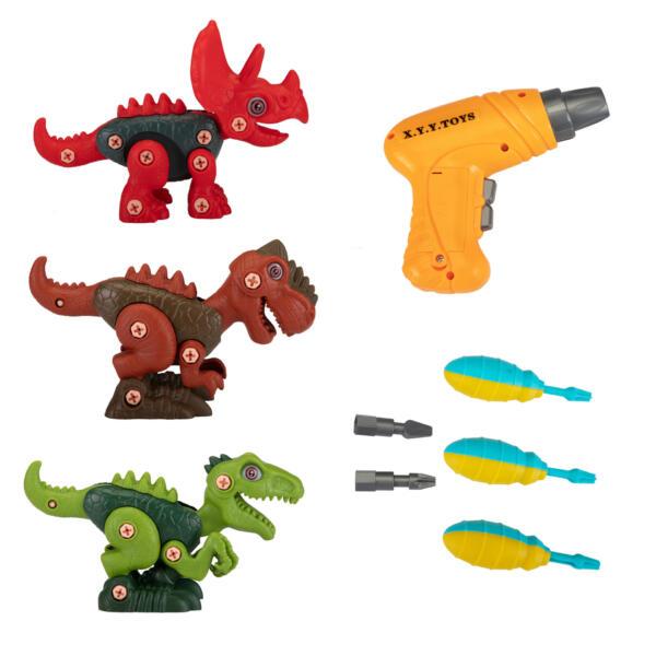 DIY 3-1 Dinosaur Take Apart Kid's Toy Set TH17T0818 17