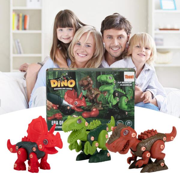 DIY 3-1 Dinosaur Take Apart Kid's Toy Set TH17T0818 cj 2