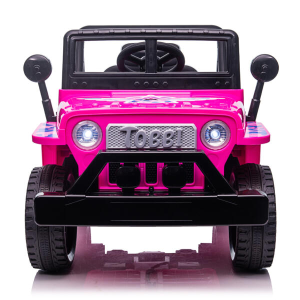 12V Kid's Ride On Truck Off-Road Vehicle W/ Double Doors TH17T08721