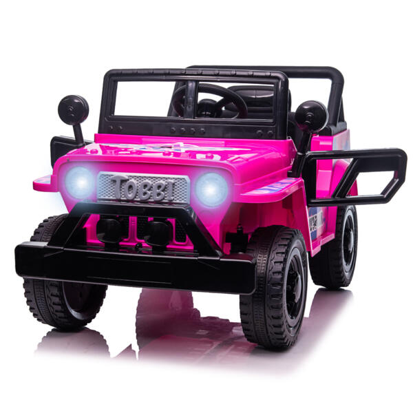 12V Kid's Ride On Truck Off-Road Vehicle W/ Double Doors TH17T08724