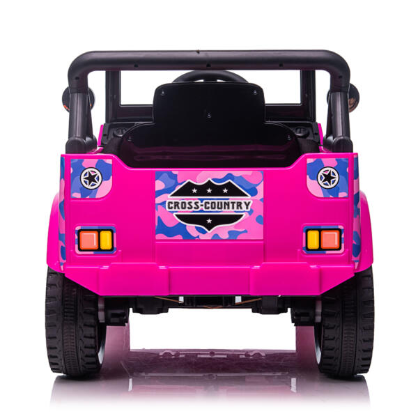 12V Kid's Ride On Truck Off-Road Vehicle W/ Double Doors TH17T08727