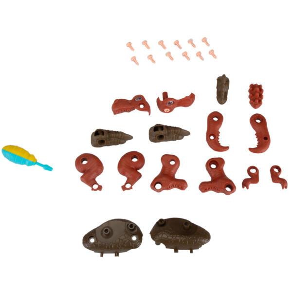 6 Packs DIY Building Dinosaur Toys Set TH17U0819 17