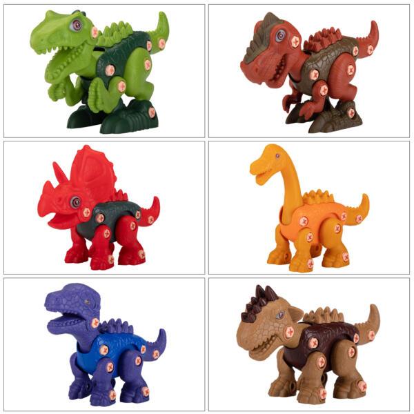 6 Packs DIY Building Dinosaur Toys Set TH17U0819 zt 3