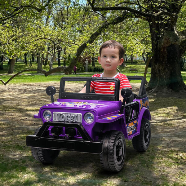 Electric Ride On Truck Toy for Kids with Horn, 12V TH17U0873 cj5
