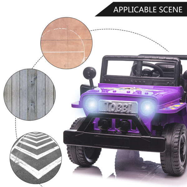 Electric Ride On Truck Toy for Kids with Horn, 12V TH17U0873 zt3