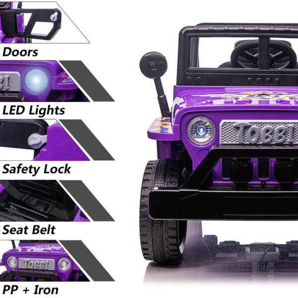 Electric Ride On Truck Toy for Kids with Horn, 12V TH17U0873 zt5