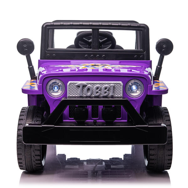 Electric Ride On Truck Toy for Kids with Horn, 12V TH17U08731