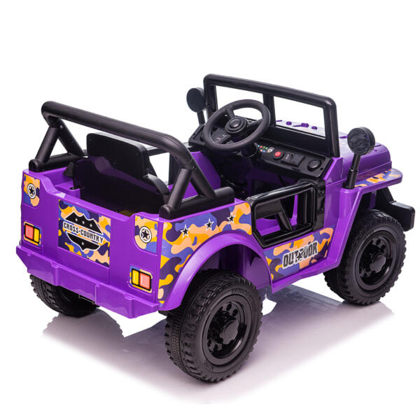 Electric Ride On Truck Toy for Kids with Horn, 12V TH17U087312