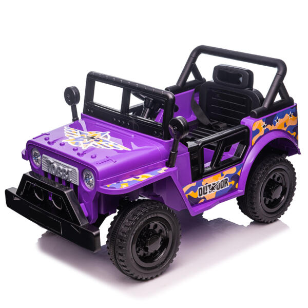 Electric Ride On Truck Toy for Kids with Horn, 12V TH17U087313