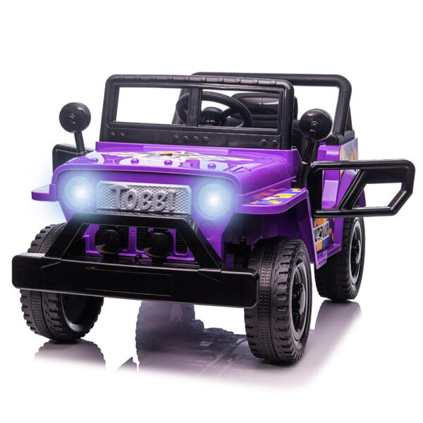 Electric Ride On Truck Toy for Kids with Horn, 12V TH17U08734