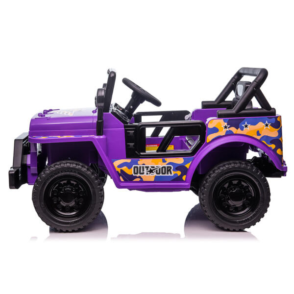 Electric Ride On Truck Toy for Kids with Horn, 12V TH17U08735