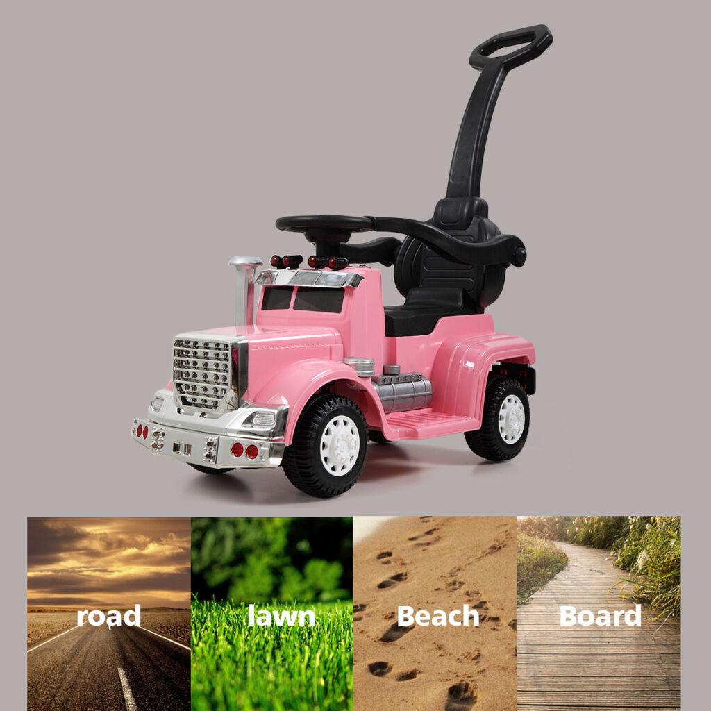 Toddler Push Car Kids Electric Ride-on Car, Pink TH17W0370 13