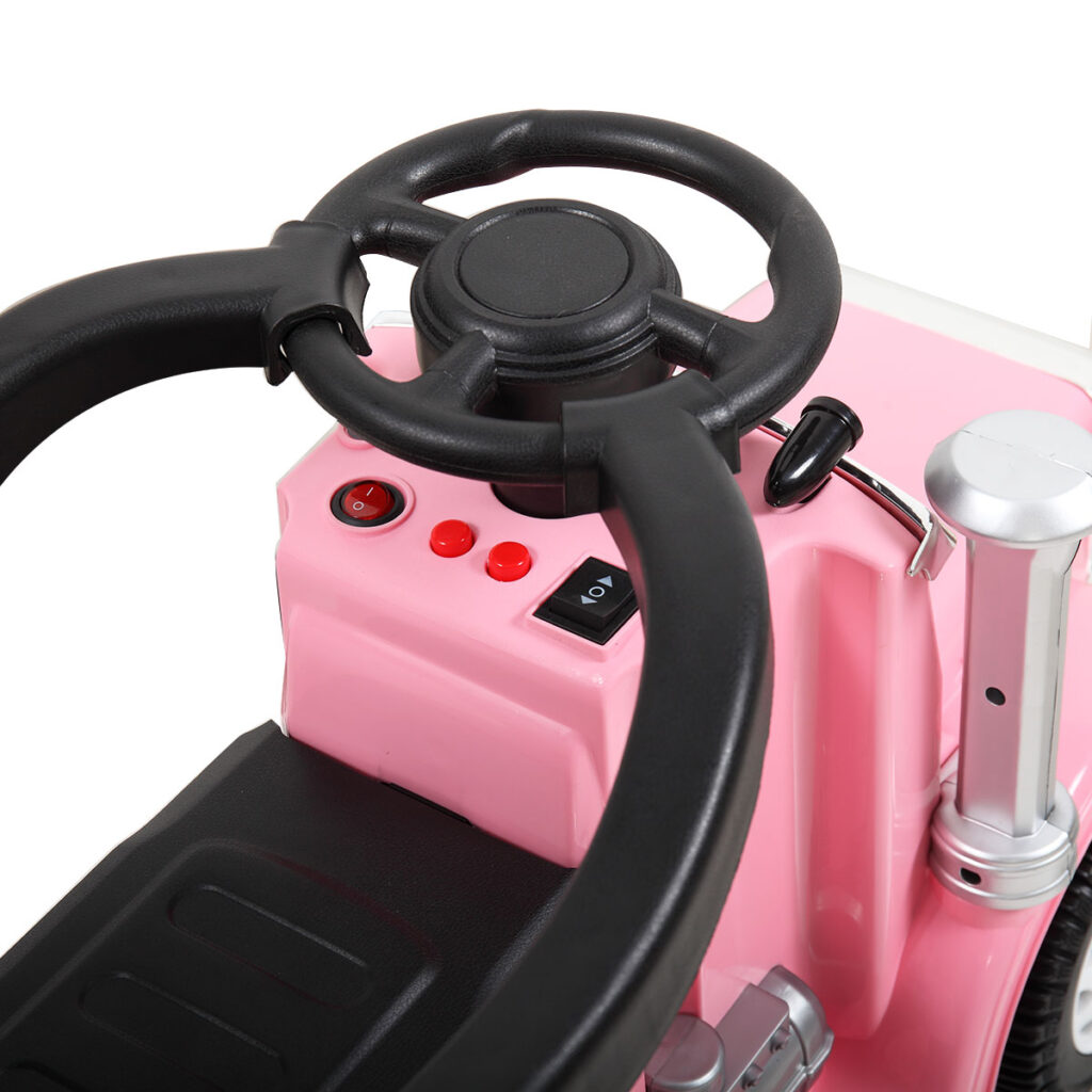 Toddler Push Car Kids Electric Ride-on Car, Pink TH17W0370 j 1