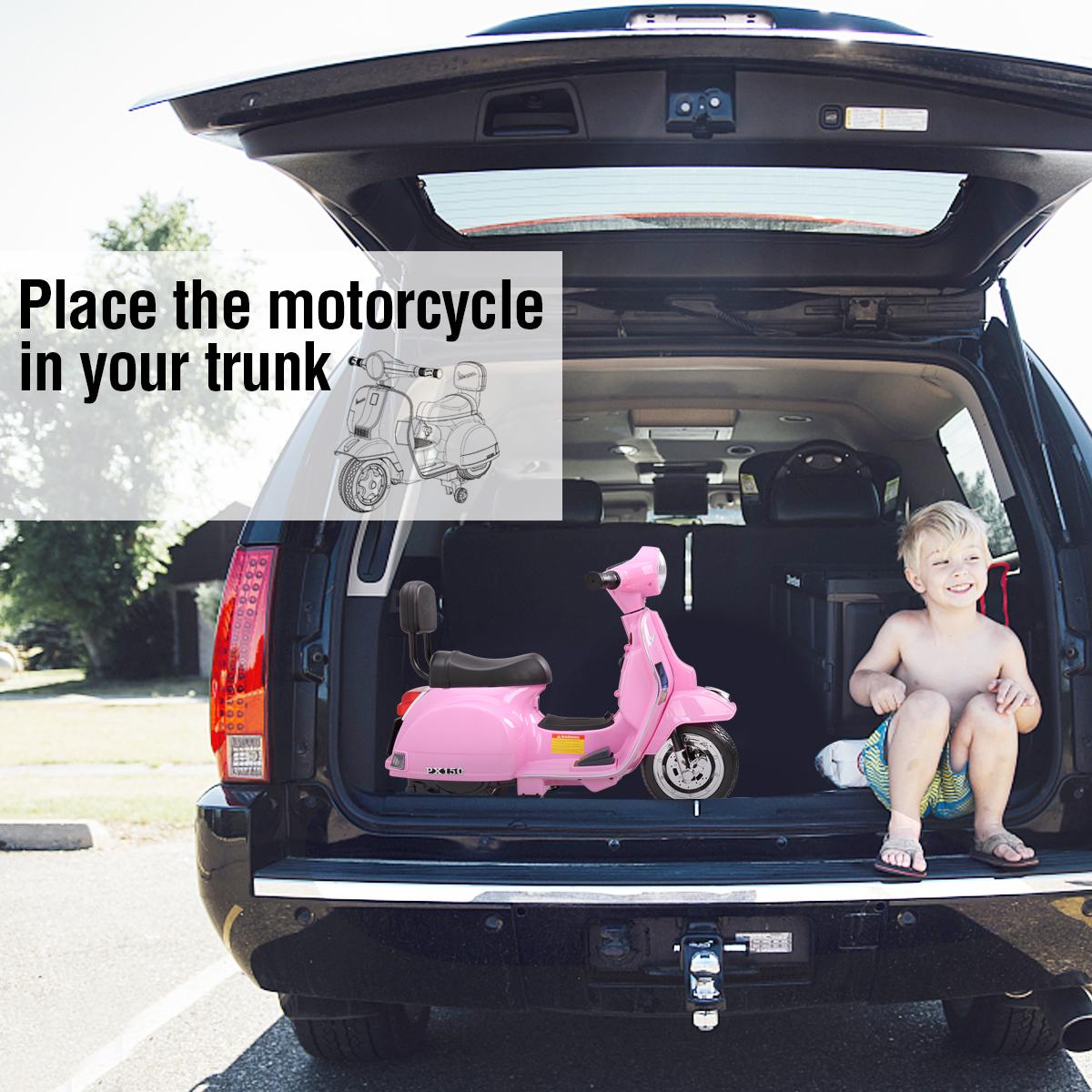 Vespa Licensed 6V Kids Motorcycle Bike, Horn TH17W0478 cj5