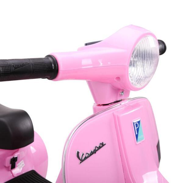 Vespa Licensed 6V Kids Ride On Motorcycle, Horn TH17W047822 1