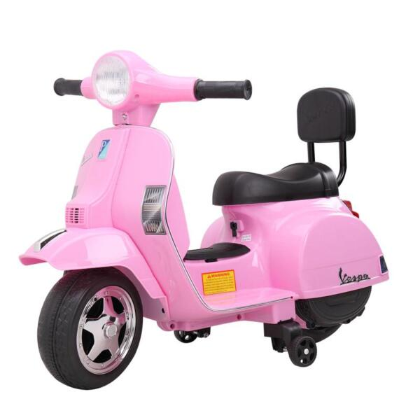 Vespa Licensed 6V Kids Ride On Motorcycle, Horn TH17W04785