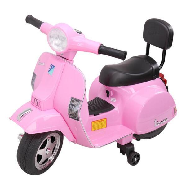 Vespa Licensed 6V Kids Ride On Motorcycle, Horn TH17W04786