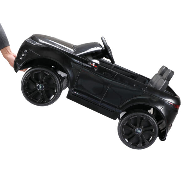 12V Land Rover Ride-on SUV Car for Kids, Black TH17W0622 69