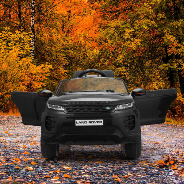 12V Land Rover Ride-on SUV Car for Kids, Black TH17W0622 zt52