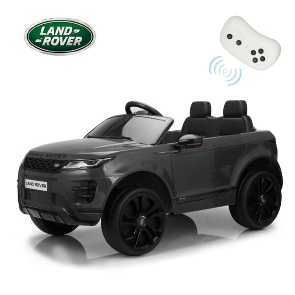 12V Land Rover Ride-on SUV Car for Kids, Black TH17W0622 zt58
