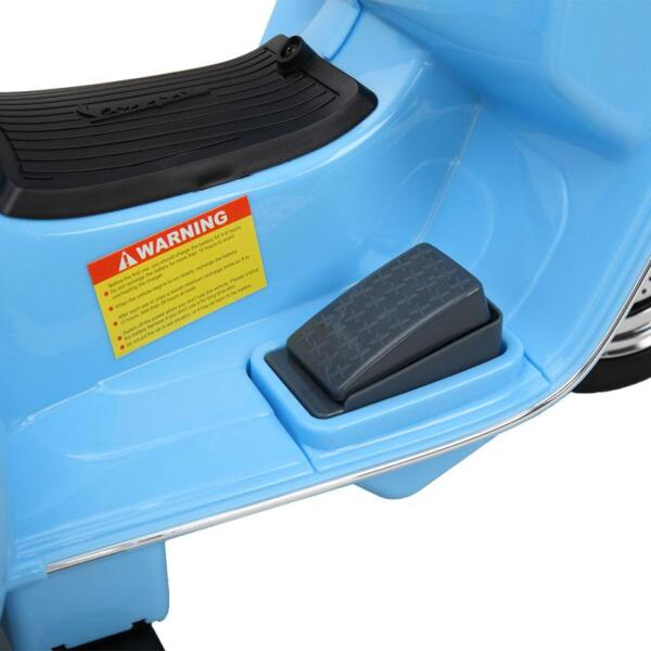 Vespa 6V Kids Ride-on Toys for Aged 3-6, Blue TH17X047923