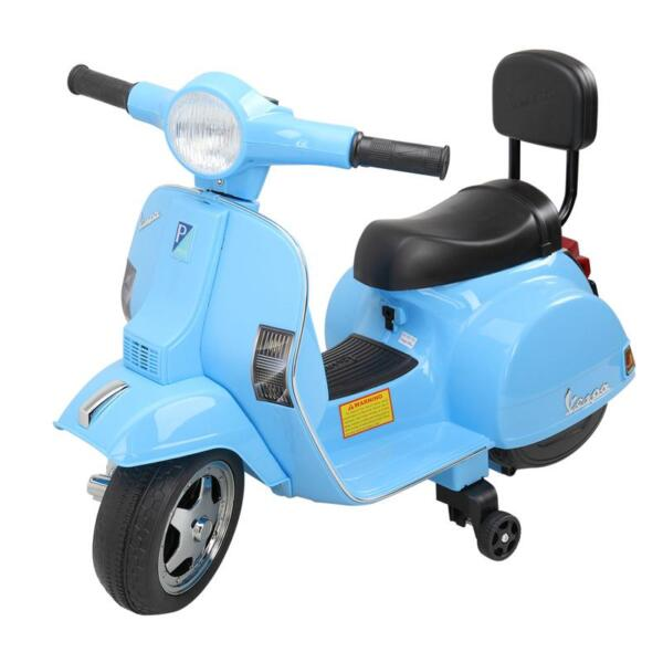 Vespa 6V Kids Ride-on Toys for Aged 3-6, Blue TH17X04796 1
