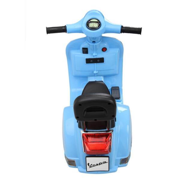 Vespa 6V Kids Ride-on Toys for Aged 3-6, Blue TH17X04797