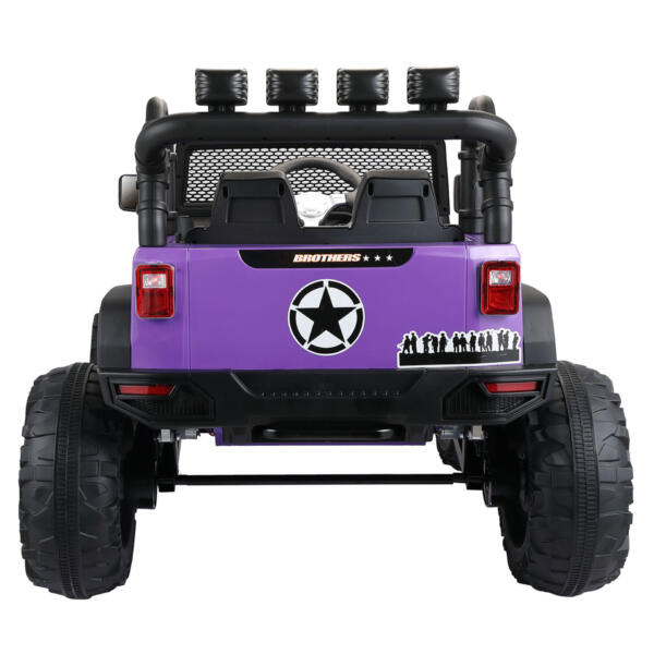 12V Remote Control Ride On Jeep Electric Car for Child TH17Y0498 5