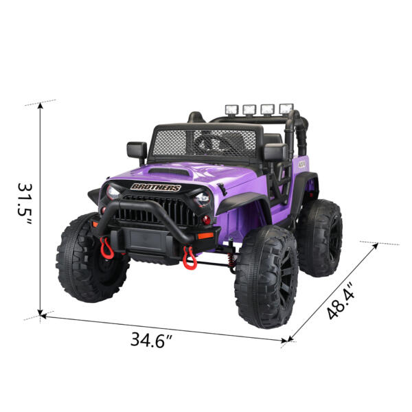 12V Remote Control Ride On Jeep Electric Car for Child TH17Y0498 cct