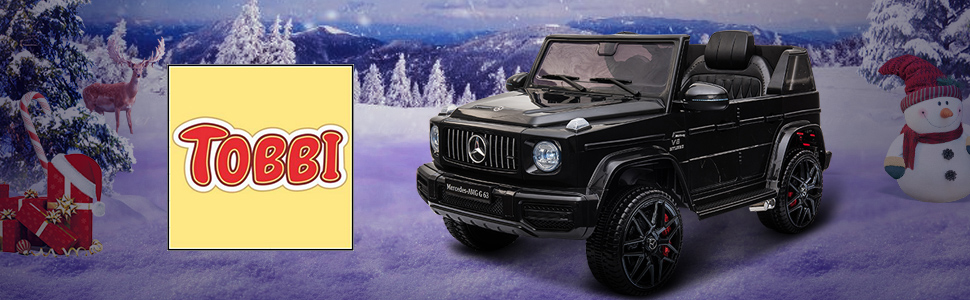 12V Mercedes-Benz AMG G63 Kids Ride On Cars Toys with Remote Control, Black TH17Y0552 1