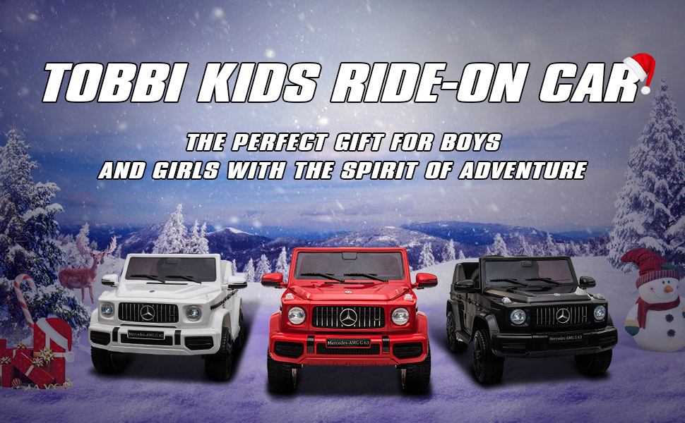 12V Mercedes-Benz AMG G63 Kids Ride On Cars Toys with Remote Control, Black TH17Y0552 9