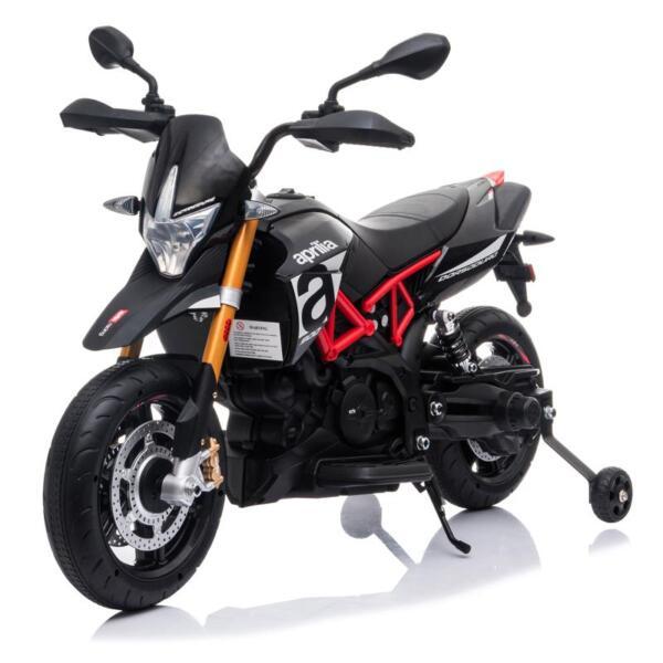Aprilia Licensed 12V Kids Ride-On Motorcycle, Black TH17Y06602