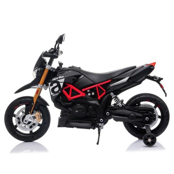 Aprilia Licensed 12V Kids Ride-On Motorcycle, Black TH17Y06603 1