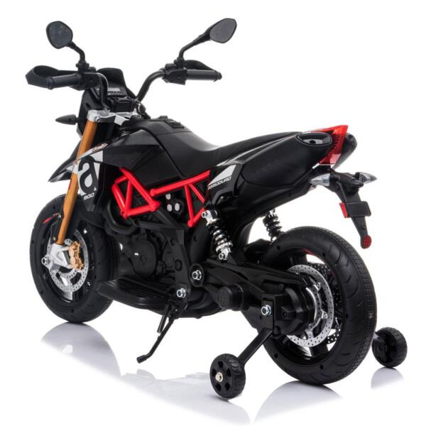 Aprilia Licensed 12V Kids Ride-On Motorcycle, Black TH17Y06604 1