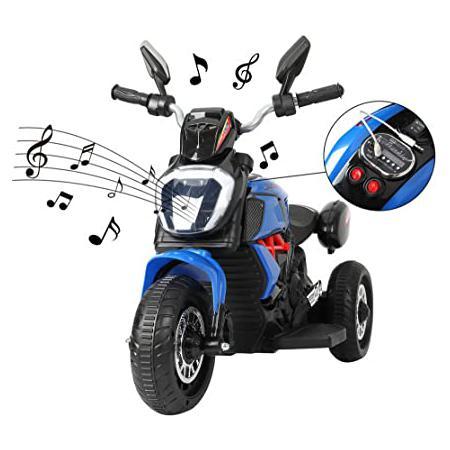 3-Wheeled kids Motorcycle, Blue