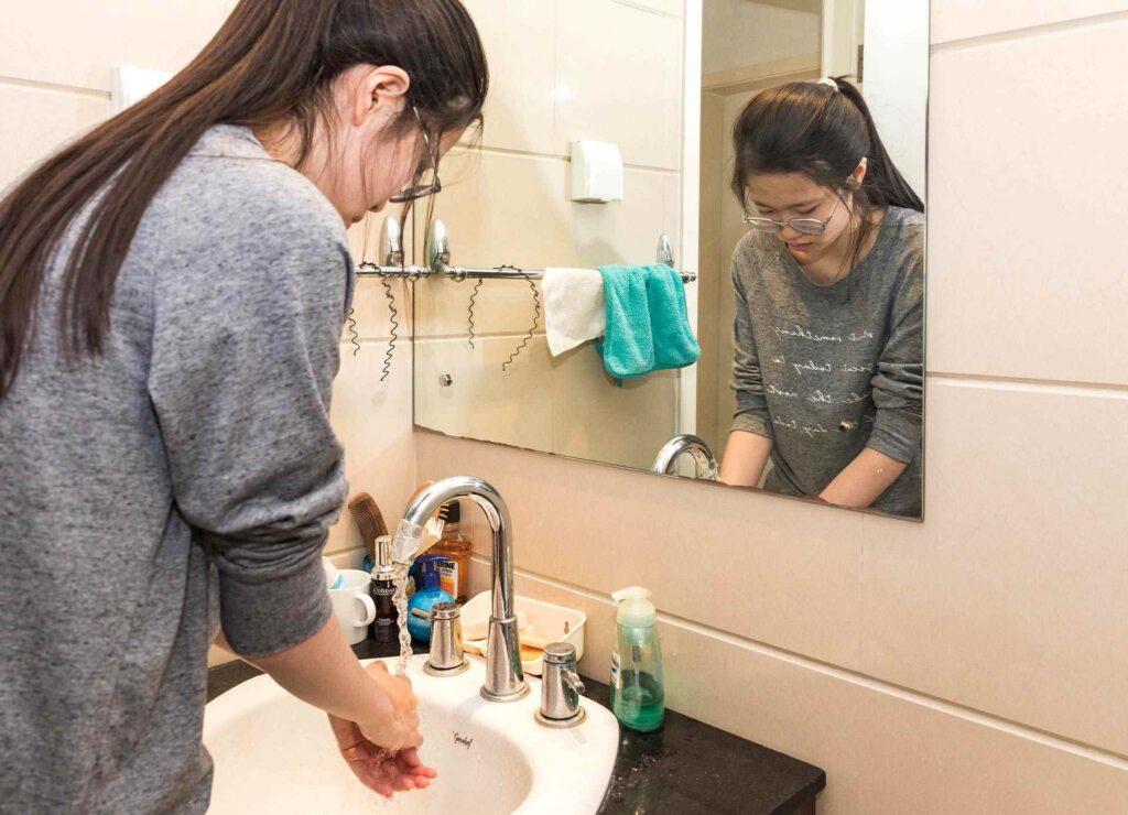 develop hygiene habits